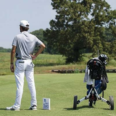 "SAVING SHOULDERS: Pros no longer call NCAA players ""soft"" for using trolleys. (Photo: NCAA)"