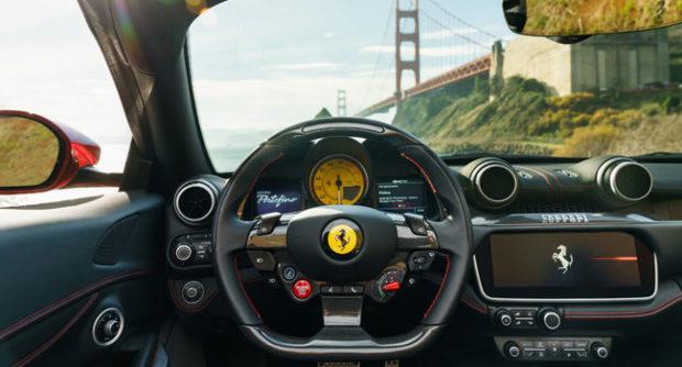 Ferrari Portofino Interior