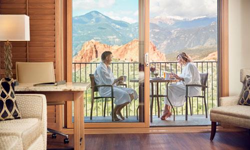 Hotel Room at Garden of the Gods Club - Colorado Springs, Colorado