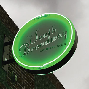 South Broadway Country Club welcome signage