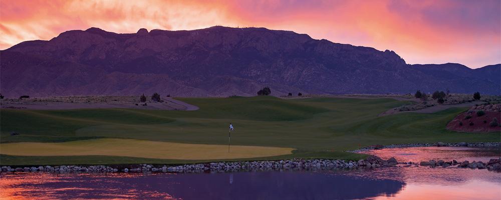 Sandia Resort & Casino sunset- New Mexico