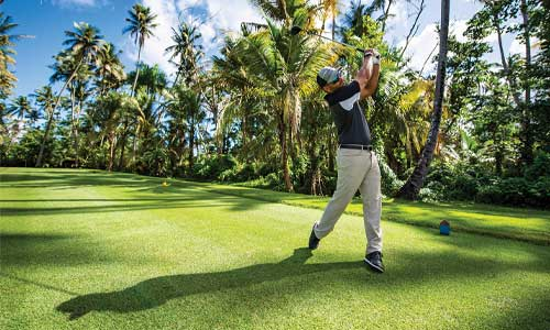 SWEET AND STOUT: TPC Dorado's Sugarcane has more forced carries than the East.