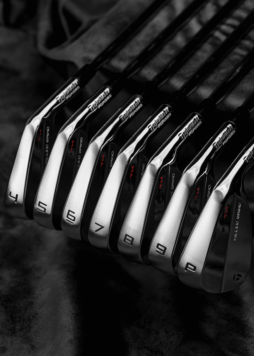 A set of P&TW Irons from TaylorMade