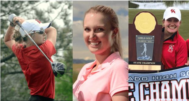 2019 High School Champions: Lauren Lehigh, Hailey Schalk, Caroline Jordaan