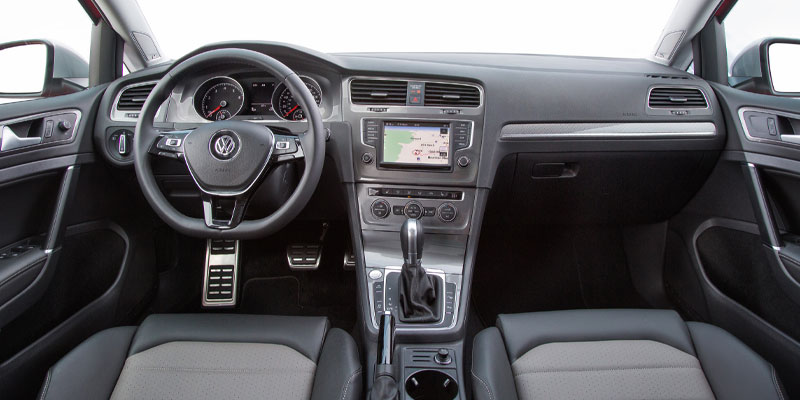 2019 VW Alltrack Interior