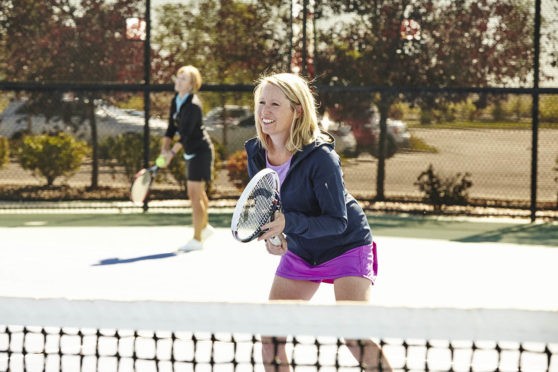 Tennis Courts are available at the club
