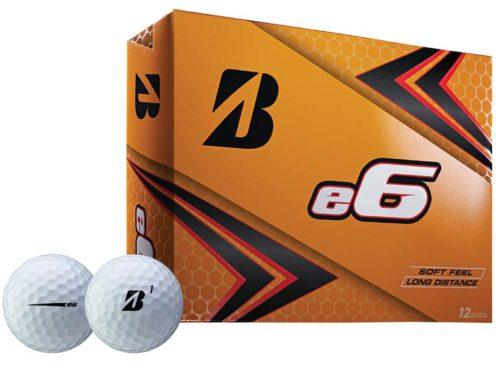 Bridgestone e6 golf ball for Father's Day gift