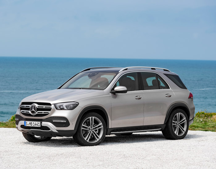 The all-new Mercedes GLE350