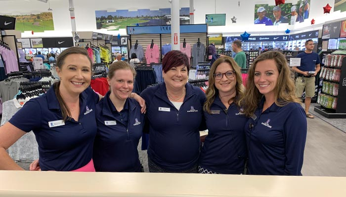 The women of the PGA TOUR Superstore