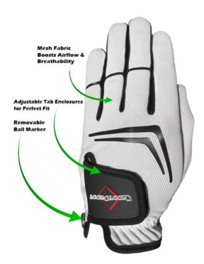 Caddy Daddy PowerLock Golf Glove
