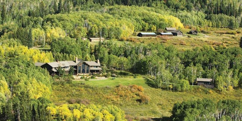Greg Norman's Seven Lakes Ranch - Meeker, Colorado