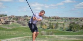 Spri Golf Swing drill, step 1
