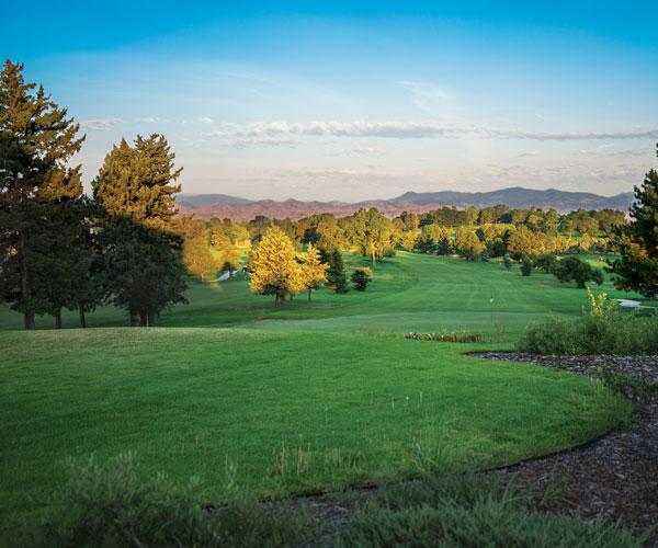 Willis Case Golf Course at dusk