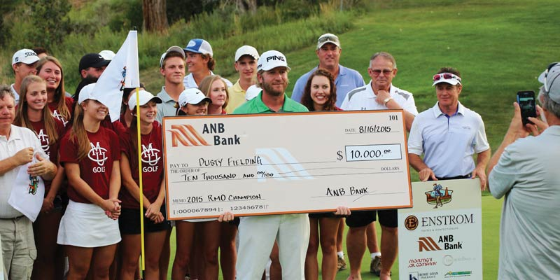 PAYDAY: Utah pro Dusty Fielding shot 17-under to win the 2015 RMO.
