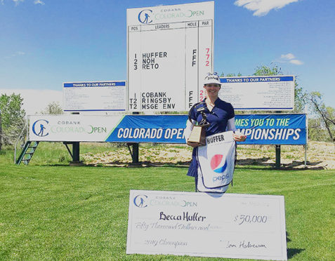 Becca Huffer, 2019 CoBank Colorado Women's Open champion