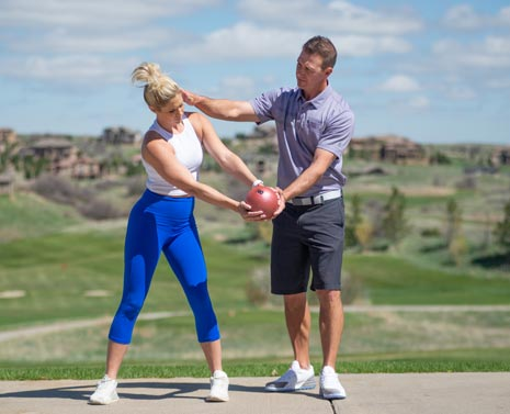 Tips to a more explosive swing
