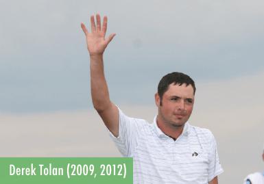 Derek Tolan - 2009 and 2012 Champion