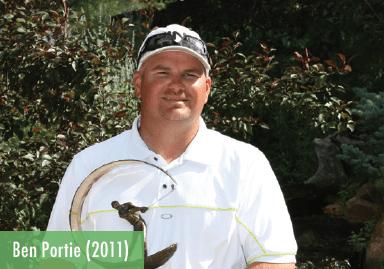 Ben Portie - 2011 Champion