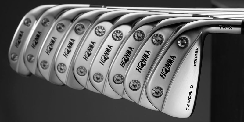 The new Honma T//World-X (TW-X) irons are available to the public