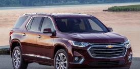 Red 2019 Chevrolet Traverse