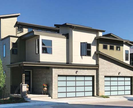 A sleek, modern home in the 5390' Community in Denver