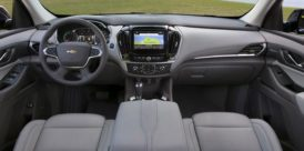 2019 Chevy Traverse Interior and dashboard