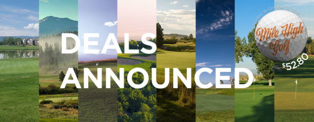 2019 Mile High Golf at $52.80 - Deals announced