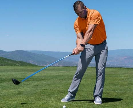 GOLTEC: More Distance Using the Ground like Rory